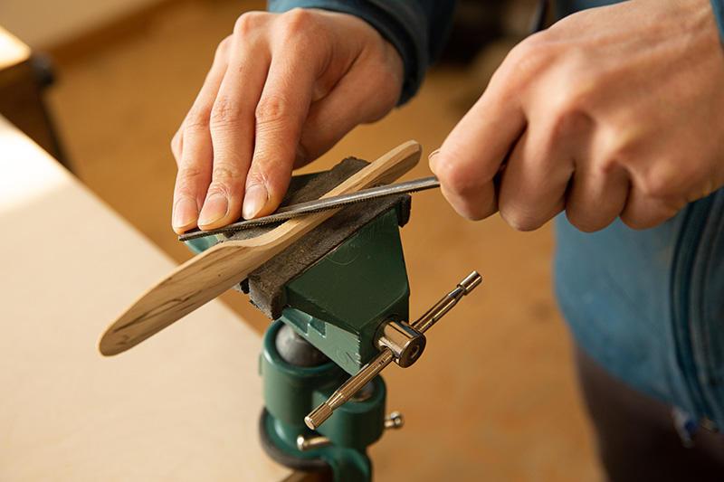 八王子産材木工品作り体験