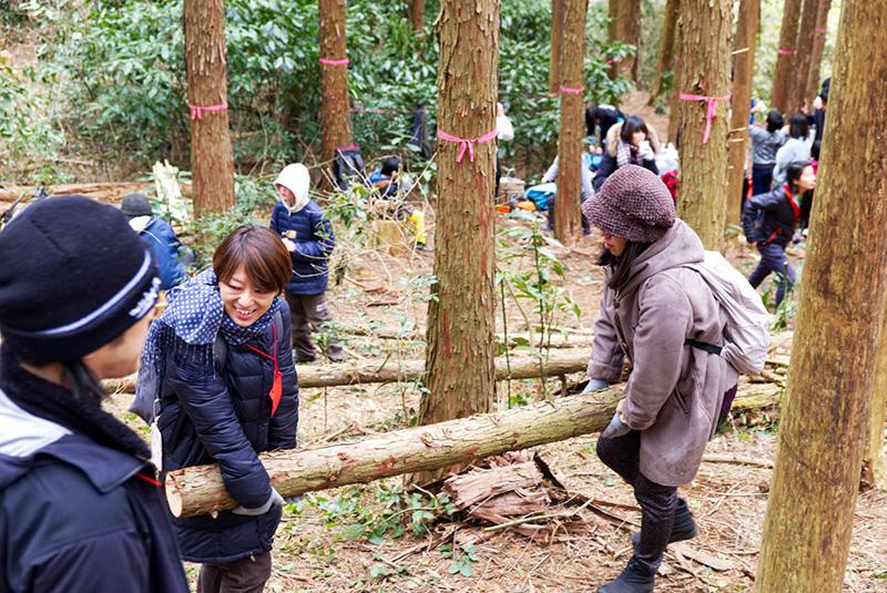 森林活用体験